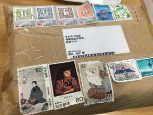 北海道から届いた小包